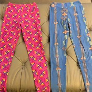 Set lularoe tween leggings